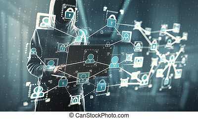 phishing, communication, concept