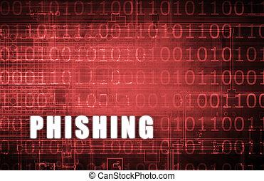 Phishing on a Digital Binary Warning Abstract