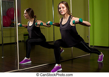 phisical, activiteit, in, de, fitnessclub