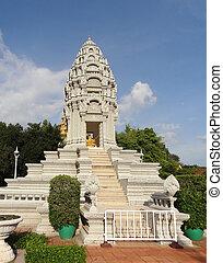 phnom, königlicher palast, penh