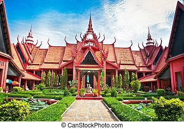 National Museum in Phnom Penh, Cambodia.