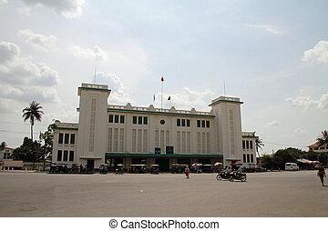 Phnom Penh central station