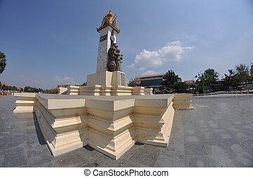 Phnomh Penh square
