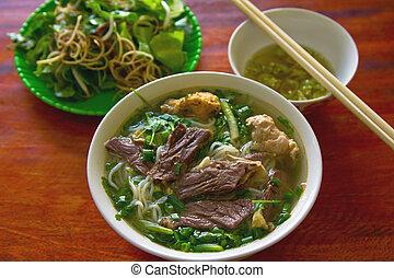 Pho Vietnamese noodle - Traditional Vietnamese 's Beef...