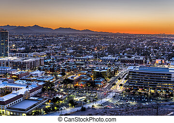 Phoenix Arizona City Overlook