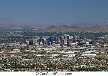 phoenix, arizona, skyline