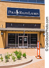 Phoenix, AZ, USA - May 18, 2013:  Polo Ralph Lauren store situated in Phoenix Premium Outlets, in the outskirts of the city.