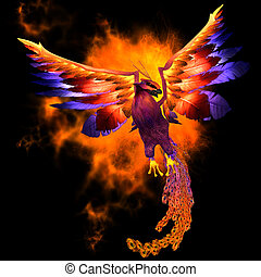 Phoenix Bird - The Phoenix bird is a legend and symbol of...