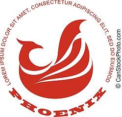 Phoenix bird logo