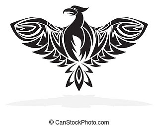 Phoenix bird - vector illustration