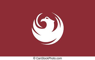 Phoenix city flag