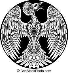 Phoenix Fire Bird Design