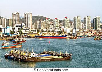 Phoenix Island Harbour of Sanya China