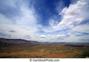 Arizona Mountain Desert North of City of Phoenix Valley