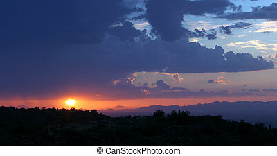Phoenix sunset - 1