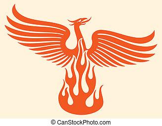 phoenix, vogel