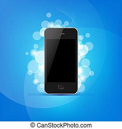 Phone And Bokeh