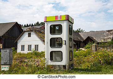 phone booth in austria