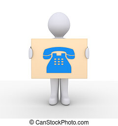 Phone call information