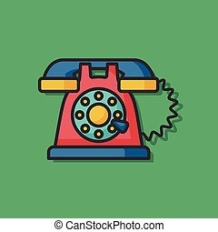 phone call vector icon