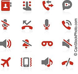 Phone Calls Interface Vector Icons