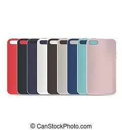 Phone case template