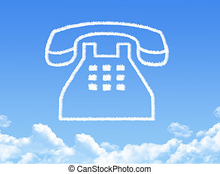 phone cloud shape