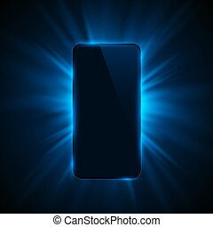 Phone cover color design modern background.