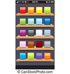 Phone Display Template