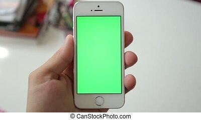 Phone Green Screen