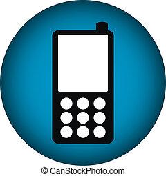 Phone icon button