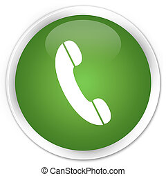 Phone icon green button
