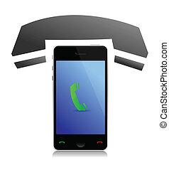 phone icon illustration design