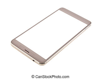 Phone isolated on white background close-up
