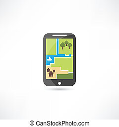 phone map icon