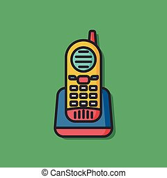 phone mobile vector icon
