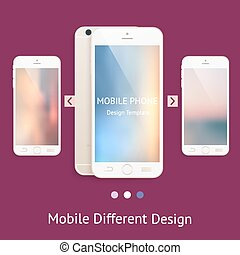 Phone mock up for your design