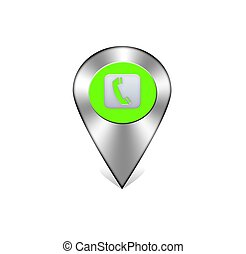 Phone navigation icon.