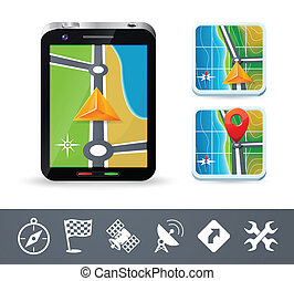 Phone navigation icons