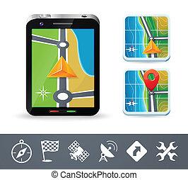 Phone navigation icons