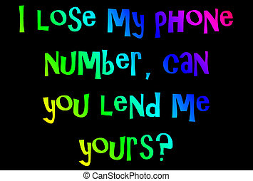 phone number