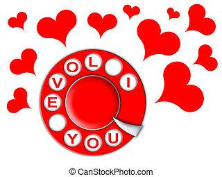 phone of love