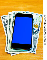 Phone on the Money