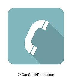 Phone receiver icon