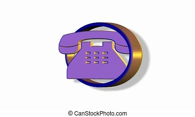 Phone rotating