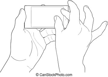 Phone touch gestures