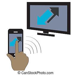 Phone tv