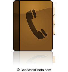 phonebook, アイコン