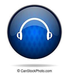 phones internet blue icon