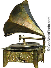 Phonograph - antique phonograph